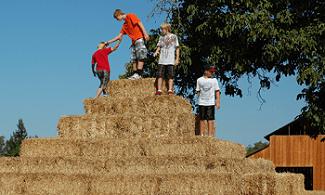Hay Pyramid